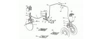 Front-rear brake system