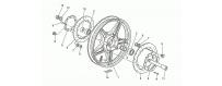 Front wheel, alloy