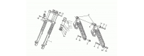 Front-rear shock absorber